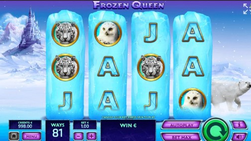 Frozen Queen Casino Games