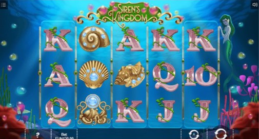Siren's Kingdom Casino Games