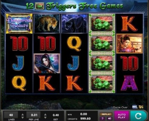 Dangerous Beauty Casino Games
