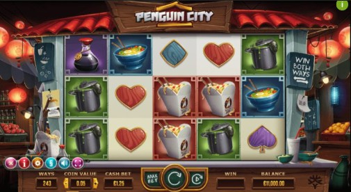 Penguin City Casino Games