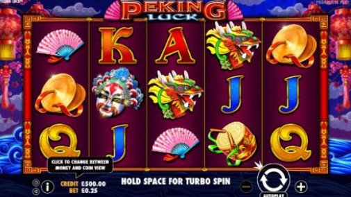 Peking Luck Casino Games