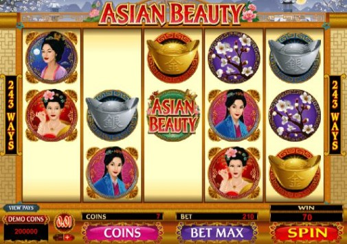 Asian Beauty Casino Games