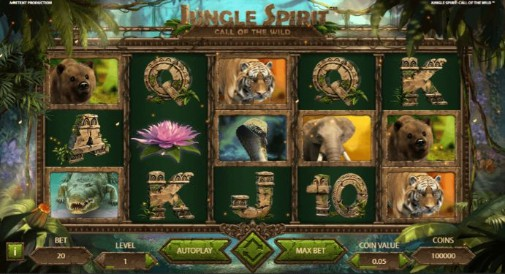 Jungle Spirit: Call of the Wild Casino Games