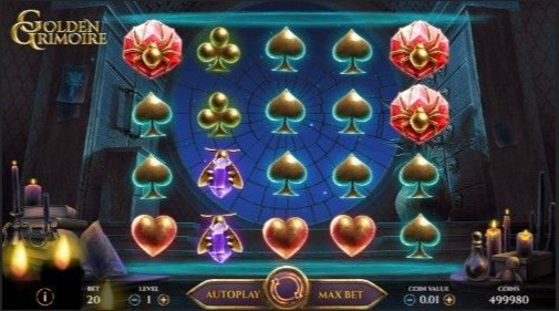 Golden Grimoire Casino Games