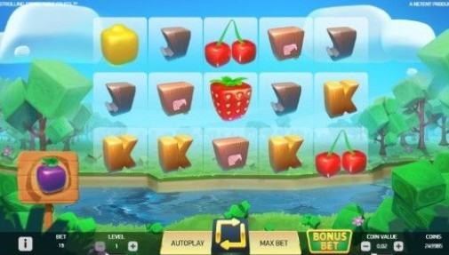 Strolling Staxx: Cubic Fruits Casino Games